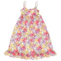Image of JC Collections Multicolor Puzzle Strappy Nightgown for Girls