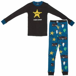 Image of I Need Arrest Cotton Pajamas for Toddlers and Boys