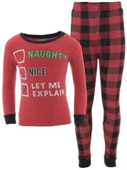 Image of Let Me Explain Cotton Pajamas for Baby and Toddler Boys