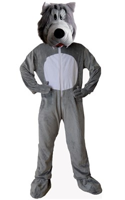 Adult Grey Wolf Costume
