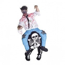 Adult Skeleton Piggyback Costume