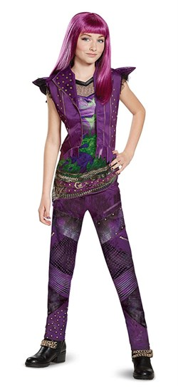 Kids Descendants 2 Mal Costume