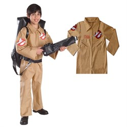 Personalized Kids Ghostbusters Costume