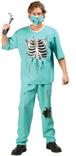Adult Scary E.R. Doctor Costume