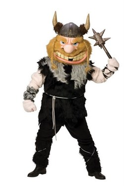 Bruiser the Barbarian Mascot Costume