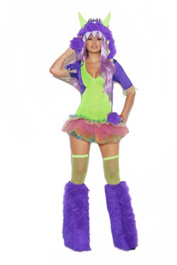 Sexy Monster Costume - One Eyed Monster