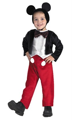 Toddler Deluxe Mickey Mouse Costume