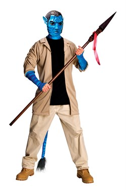 Adult Avatar Deluxe Jake Sully Costume 889806-STD