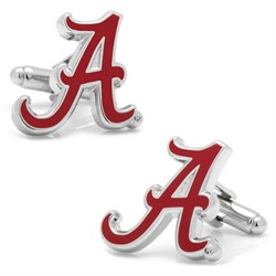 Alabama Crimson Tide Cufflinks PD-ALA2-SL