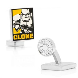 Clone Trooper Pop Art Poster Cufflinks SW-CTPA-SL