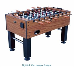 """FT250DS Manchester 55"""""""" Foosball Table with 2 Cup Holders  an Abacus-style Scoring and Leg"""" 309861"""