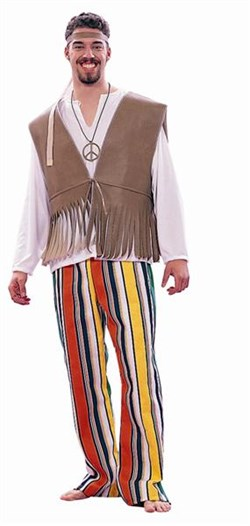 Adult 60's Love Child Costume - Male 80163