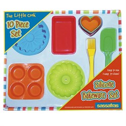The Little Cook-Silicone Child Bakeware Kit 22225