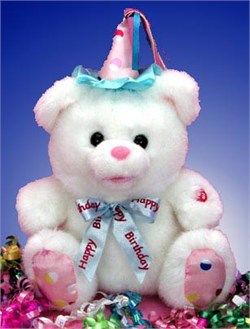 Singing Birthday Bear 12001