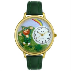 Personalized St. Patrick's Day Rainbow Unisex Watch G-1224002